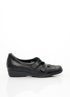 Chaussures de confort noir MODO PODULO pour femme