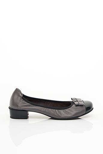 Escarpins gris HIRICA pour femme