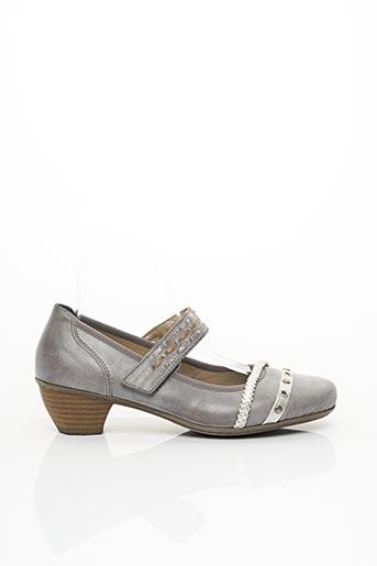 Escarpins gris REIKO pour femme