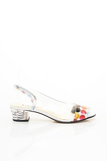 Sandales/Nu pieds rose AZUREE pour femme
