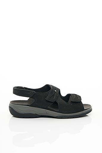 Sandales/Nu pieds noir ARA pour homme