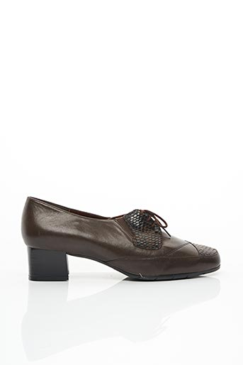 Derbies marron ARTIKA SOFT pour femme
