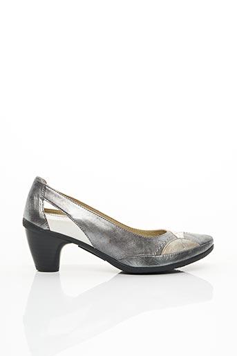 Escarpins gris J.METAYER pour femme