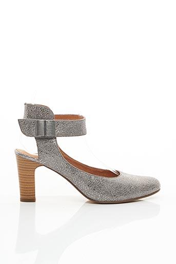 Escarpins gris KARSTON pour femme