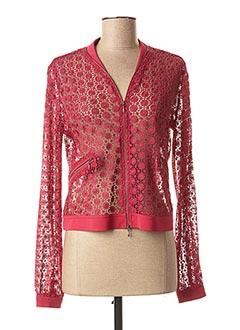 Veste casual rouge EVA KAYAN pour femme