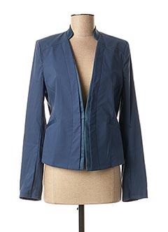 Veste chic / Blazer bleu EVA KAYAN pour femme