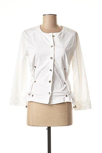 Veste casual blanc MERI & ESCA pour femme