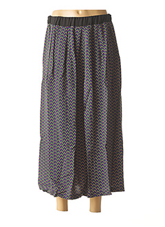 Jupe longue violet WU'SIDE pour femme