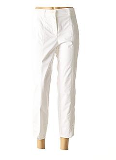 Pantalon casual blanc TONI pour femme