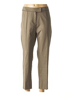 Pantalon casual vert EVA KAYAN pour femme
