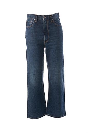 Jeans coupe large bleu LEVIS pour femme