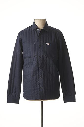 Veste casual bleu OXBOW pour homme