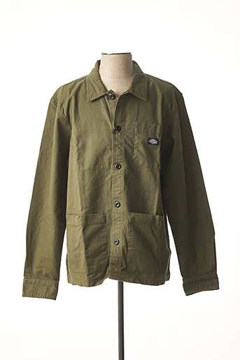 Veste casual vert DICKIES pour homme