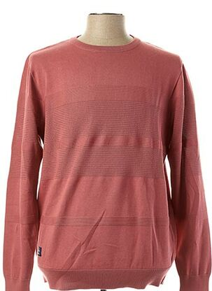 Pull col rond rose OXBOW pour homme