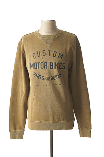 Sweat-shirt marron ONLY&SONS pour homme