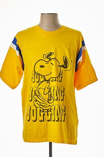 T-shirt manches courtes jaune LEVIS pour homme