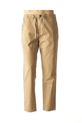 Pantalon casual beige BARBOUR pour homme