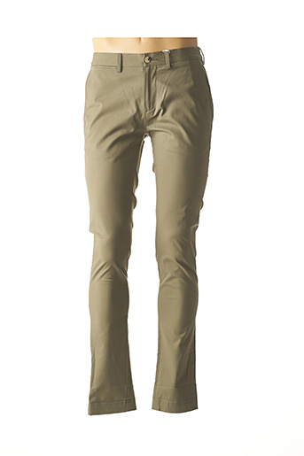 Pantalon casual vert BEN SHERMAN pour homme