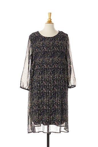 Robe mi-longue noir TEDDY SMITH pour fille