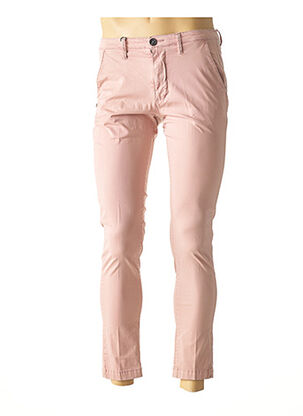 Pantalon casual rose RECYCLED ART WORLD pour homme