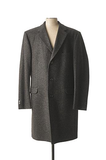 Manteau long gris KLOTZ pour homme