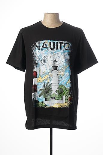 T-shirt manches courtes noir EASY MAXFORT pour homme
