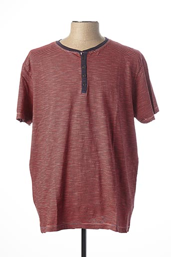 T-shirt manches courtes rose KITARO pour homme