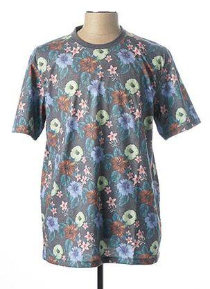 T-shirt manches courtes gris CASAMODA pour homme