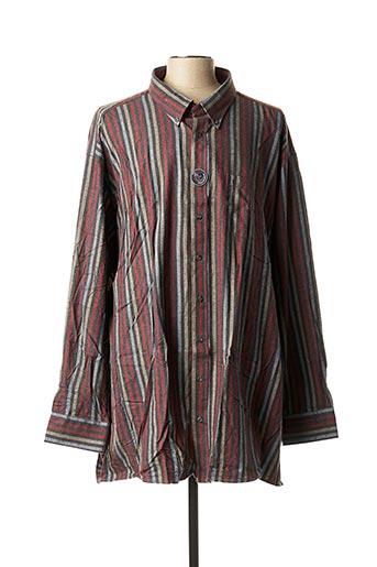 Chemise manches longues rouge CASAMODA pour homme