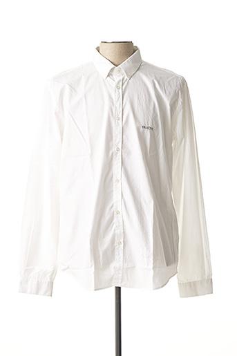Chemise manches longues blanc MISE AU GREEN pour homme