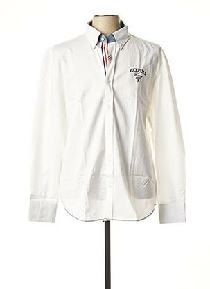 Chemise manches longues blanc RUCKFIELD pour homme