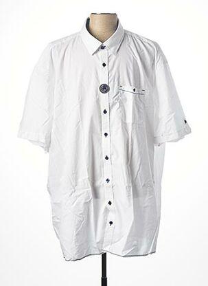 Chemise manches courtes blanc CASAMODA pour homme