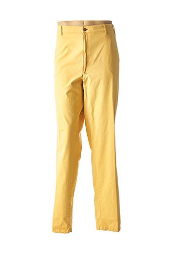 Pantalon chic jaune M.E.N.S pour homme