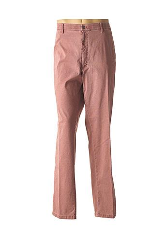 Pantalon chic rouge M.E.N.S pour homme