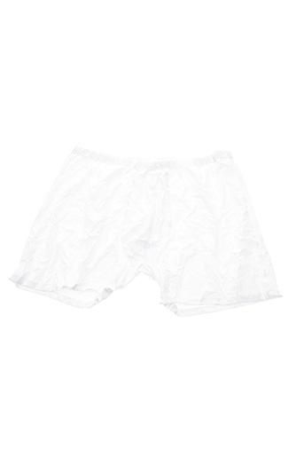 Shorty/Boxer blanc MAXFORT pour homme