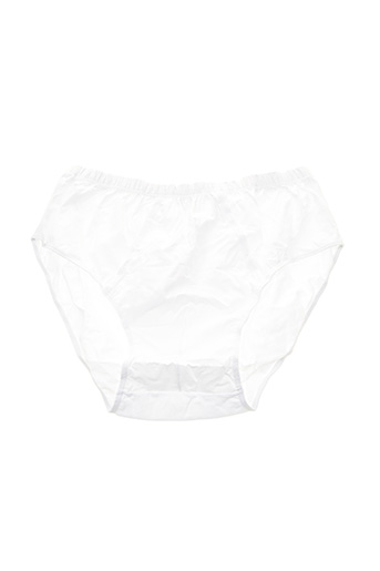 Slip/Culotte blanc MAXFORT pour homme