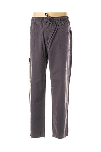 Pantalon casual gris EASY MAXFORT pour homme