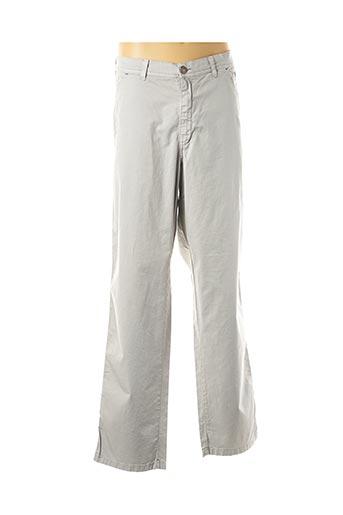 Pantalon casual gris MAXFORT pour homme
