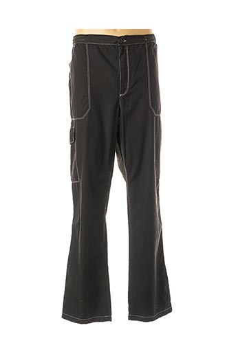 Pantalon casual noir MAXFORT pour homme