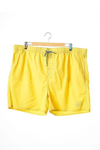 Short jaune KITARO pour homme