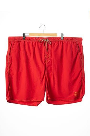 Short rouge KITARO pour homme