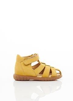 Sandales/Nu pieds jaune MINIBEL pour enfant