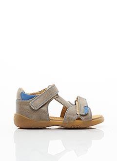 Sandales/Nu pieds marron MINIBEL pour garçon