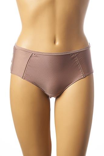 Shorty/Boxer marron CHANTELLE pour femme