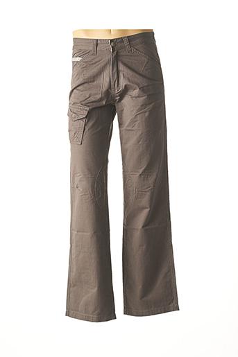 Pantalon casual marron COMPTOIR DU RUGBY pour homme