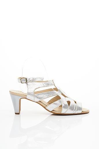 Sandales/Nu pieds gris ARTIKA SOFT pour femme