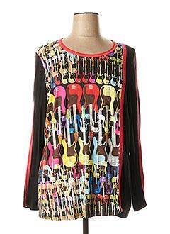 T-shirt manches longues rouge CHALOU pour femme