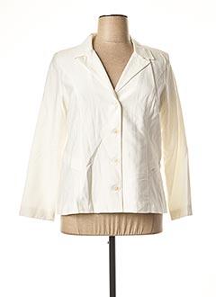 Veste chic / Blazer blanc JEAN GABRIEL pour femme
