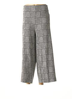 Pantalon 7/8 gris MALOKA pour femme