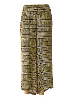 Pantalon 7/8 jaune CISO pour femme